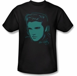 Elvis Presley Young Dots T-Shirt