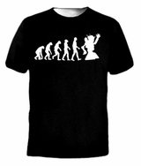 Evolution of a Robot T-Shirt