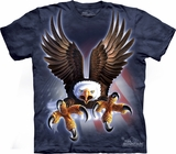 Fierce Eagle USA Mountain T-Shirt