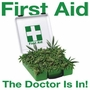 First Aid The Doc Is In Marijuana Weed Funny T-Shirt