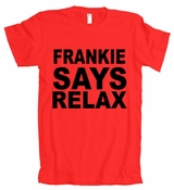 FRANKIE SAYS RELAX Retro 80s FUNNY American Apparel T-Shirt