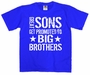 Great Sons Get Promoted To Big Brothers Youth T-Shirt