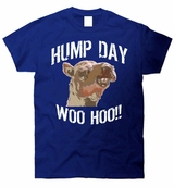 Hump Day Camel Face Funny T-Shirt
