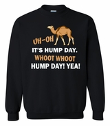 Funny Hump Day Crewneck Sweater