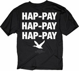 Hap-pay Happy Duck Dynasty T-Shirt