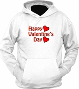 Happy Valentine's Day Love Heart Holiday HOODIE T-Shirt