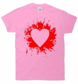 Heart Splatter T-Shirt