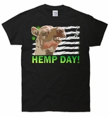 Hemp Day Green Wednesday Weed T-Shirt