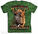 Hemp Day Hump The Mountain T-Shirt