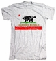 Honey Badger California Republic Flag American Apparel T-Shirt