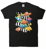 Humbugs and Clowns Fish 3D T-Shirt