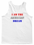 I Am The American Dream Men's Tank Top