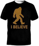 I Believe Sasquatch Bigfoot T-Shirt