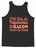 I'd Be A Vegetarian If Bacon Grew On Trees Men's Tank Top