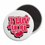 "I Love You Hearts Valentine's 2.25"" Magnet"