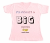 I'M FINALLY A BIG Sister T-SHIRT Custom Name Personalized Tee