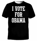 I Vote for Barack Obama T-Shirt