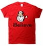 iBelieve Santa Claus Christmas T-Shirt