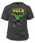 Incredible Hulk Charcoal Marvel T-Shirt
