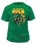 Incredible Hulk Smash Green Marvel T-Shirt