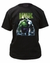 Incredible Hulk Water Riser Marvel Black T-Shirt