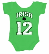 Irish 2012 Baby Body Suit
