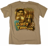 It's Party Time Jack Uncle Si T-Shirt