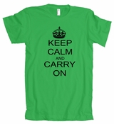 Keep Calm and Carry on American Apparel T-Shirt