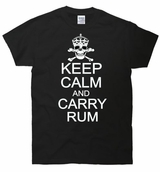 Keep Calm And Carry Rum T-Shirt