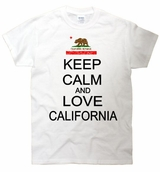 Keep Calm and Love California T-Shirt