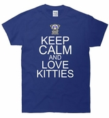 Keep Calm and Love Kitties T-Shirt