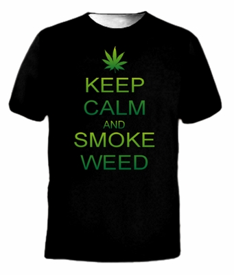 Keep Calm and Smoke Weed T-Shirt