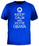 Keep Calm And Vote Barack Obama T-Shirt