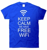 Keep Calm We Have WiFi T-Shirt
