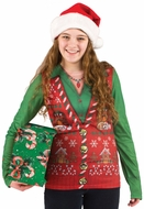 Ladies Ugly Christmas Sweater Vest