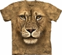 Lion Warrior The Mountain Adult T-Shirt