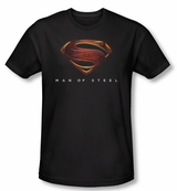 Superman Man of Steel Mos Logo T-Shirt