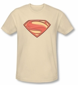 Superman Man Of Steel New Logo T-Shirt