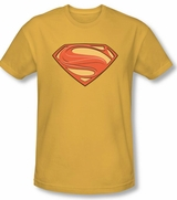 Superman Man of Steel New Shield Logo T-Shirt