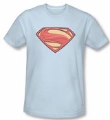 Man Of Steel New Solid Shield T-Shirt