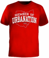 Member of Urbanation... Urban Nation The Legend is Back! T-Shirt