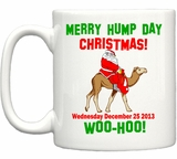 Merry Hump Day Christmas Coffee Mug
