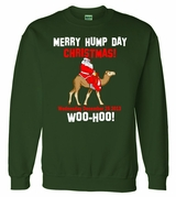 Merry Hump Day Christmas Crewneck Sweater
