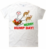 Merry Hump Day Christmas Sleigh T-Shirt