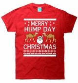 Merry Hump Day Ugly Christmas Sweater T-Shirt