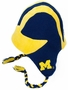 Michigan Beanie Braided Hat