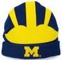 Michigan University Mascot Beanie Hat