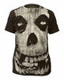 Misfits All-Over Fiend Skull Official Coal T-Shirt