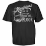Moonshiners One Sip Two Sip Three Sip Floor T-Shirt