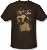 Muhammad Ali Apologize T-Shirt